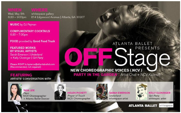 whitespace and Atlanta Ballet OFFStage