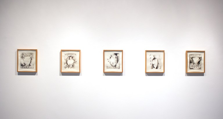 Works by Rosemary Mayer. (Photo: Kristina Ford)