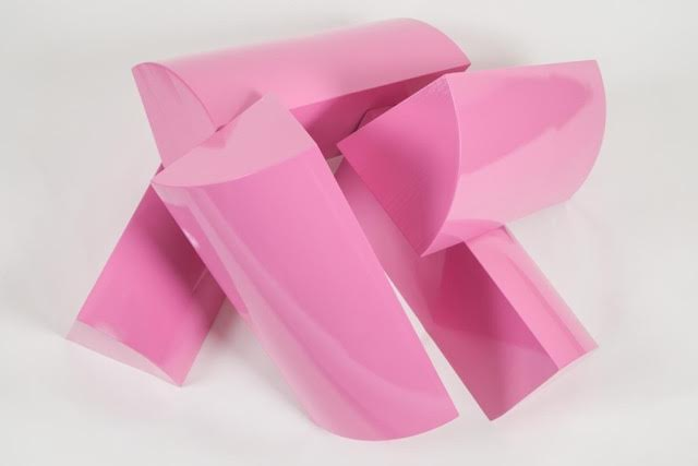 pink plastic fire logs