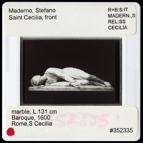 archival print of moderno stefano saint cecilia
